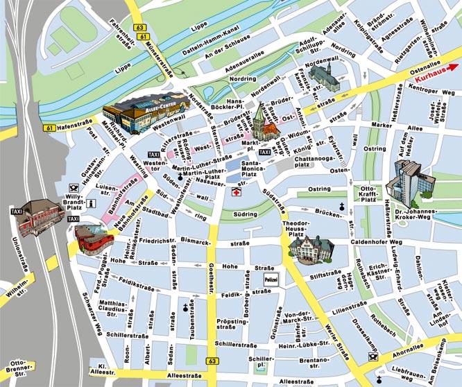 Hamm Karte.Stadt Hamm Parkleit System Online