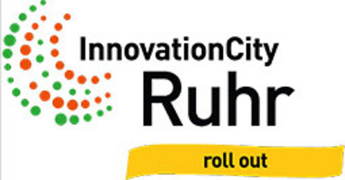 Logo InnovationCity Ruhr roll out