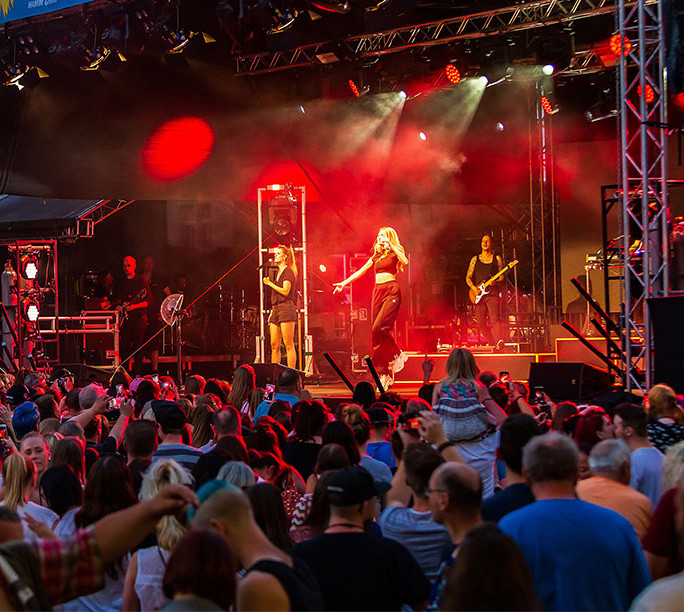 Open Air Konzert Hammer Summer