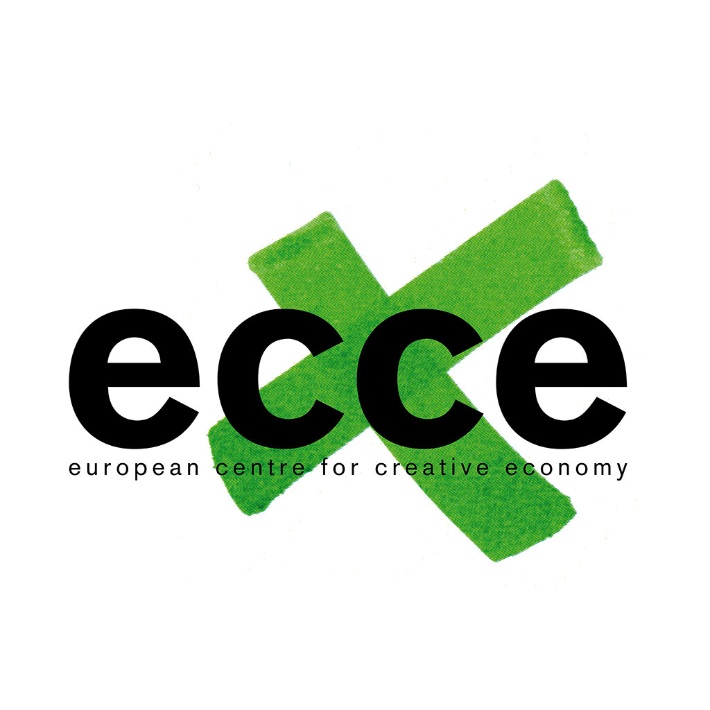Logo ecce - european centre for creative economy