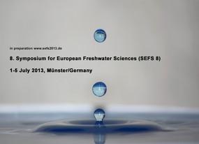 Anzeige für das 8. Symposium for European Freshwater Science in Münster 2013